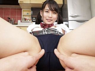 Aoi Kururigi My Sister with a Great Ass Came Home Wearing Bloomers Part 1 - SexLikeReal