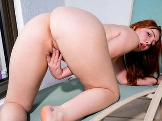 Amber Addis in Cumming Outside - Nubiles